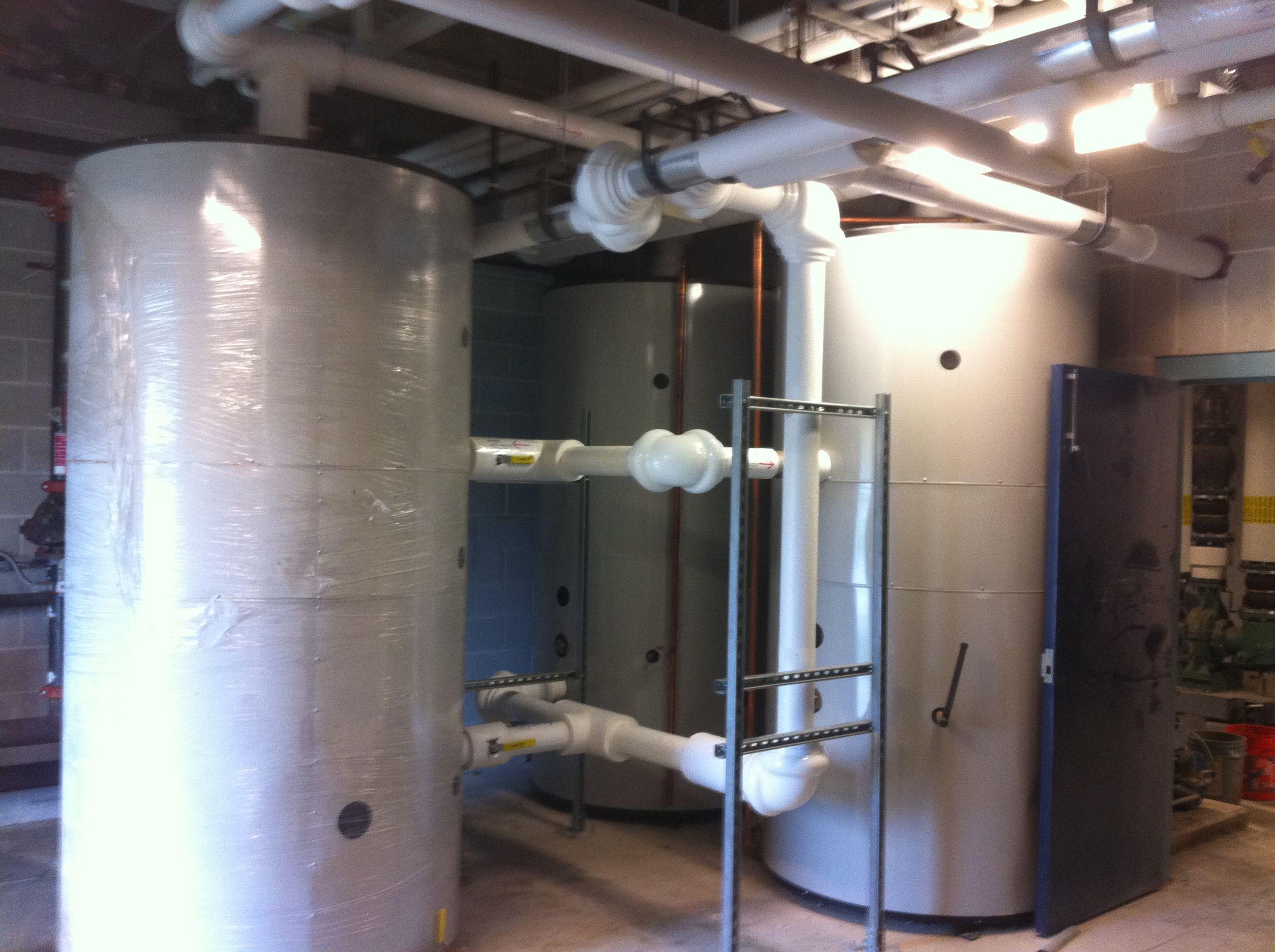 Solar Hot Water | Collectors, Tanks, Piping, Pumps | Shift Energy LLC