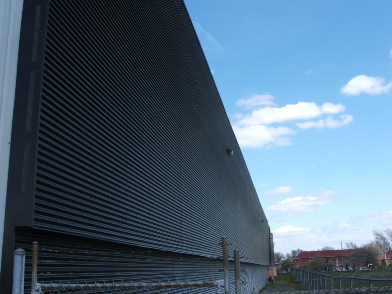 Solar Metal Walls Transpired Solar Heat By Shift Energy Llc